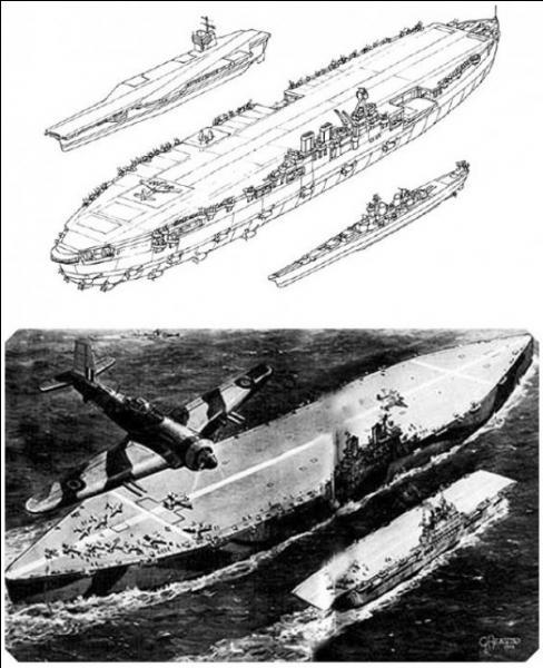 Parfois, il y a des inventions ou des améliorations plutôt bizarres voir saugrenues. La Royal Navy eut une idée réellement « bizarroïde ». Ils décidèrent de construire un porte-avions d'un type nouveau. C'est le projet Habakkuk. Avec quel matériau a-t-il été conçu ?