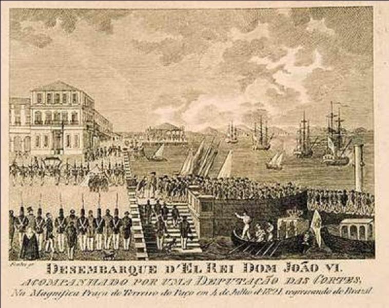 Suite à l'invasion du Portugal par les armées de l'empereur Napoléon 1e, entre 1807, quelle ville était la capitale du Portugal ?