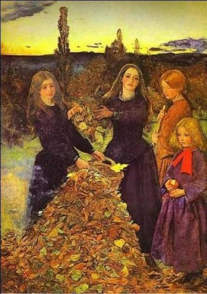 Le peintre britannique John Everett Millais a réalisé cette toile en 1856. Quel est son nom ?