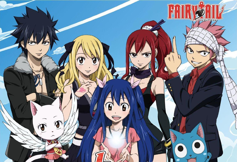 Fairy Tail : l'enfance des personnages