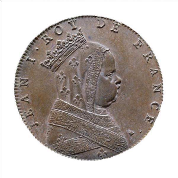 Il est le seul roi de France à avoir régné de sa naissance à sa mort. Son père était Louis X « le Hutin ». A vous de trouver ce roi qui n'est pas resté dans l'histoire pour son action !