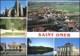 Je vous envoie une carte postale de mon séjour à Saint-Omer. Je me trouvais en région ...