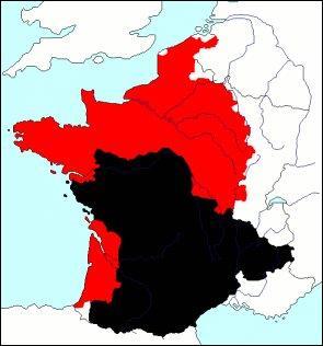 Cette carte en rouge et noir ne laisse rien présager de bon. A votre avis, que signifie-t-elle ?