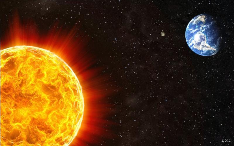 A quelle distance se situe en moyenne la terre du Soleil ?