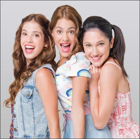 """Qui sont les meilleures amies dans """"Violetta"""" (la série) ?"""