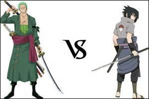 Premier combat Zorro vs Sasuke qui gagne ?