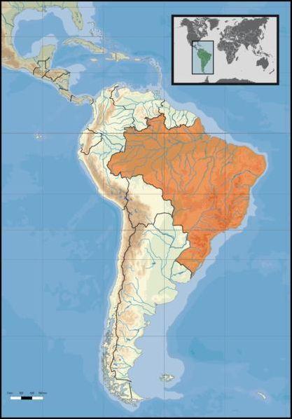 Les pays d'Amérique latine