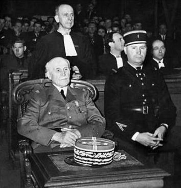 Actuellement, suite à sa condamnation lors de son procès en juillet-août 1945, comment doit-on, en théorie, appeler le maréchal Pétain ?