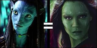 Quelle actrice incarne Gamora ?