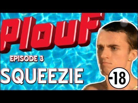 """Squeezie a fait une vidéo qui s'appelle """"Plouf ! """", et qui est une parodie de ... ?"""