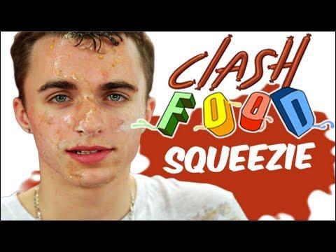 """Dans la vidéo """"Clash Food"""", pour qui Squeezie cuisine-t-il ?"""