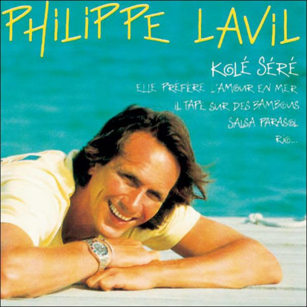 """1982. Philippe Lavil : """"Il vit sa vie au bord de l'eau / Cocos et coquillages / Tu l'verras toujours bien dans sa peau / Quand il prend ce tempo / ..."""" (Clip)"""