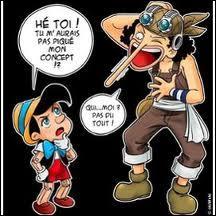 Sur cette image, qui a piqué le concept de Pinocchio ?