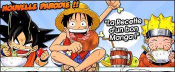 Qui sont les deux goinfres avec qui Luffy mange ?