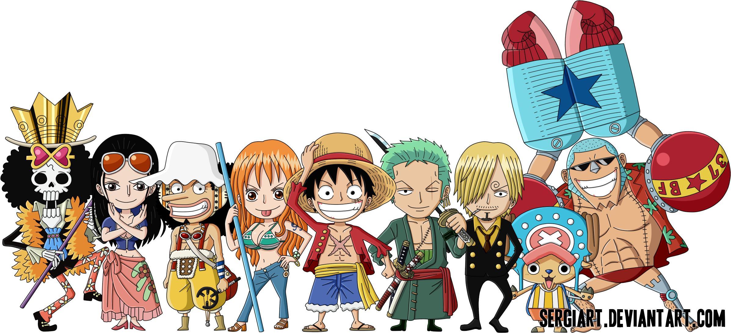 Chibis 'One Piece'
