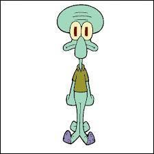 Comment s'appelle le calamar qui déteste Bob l'éponge ?