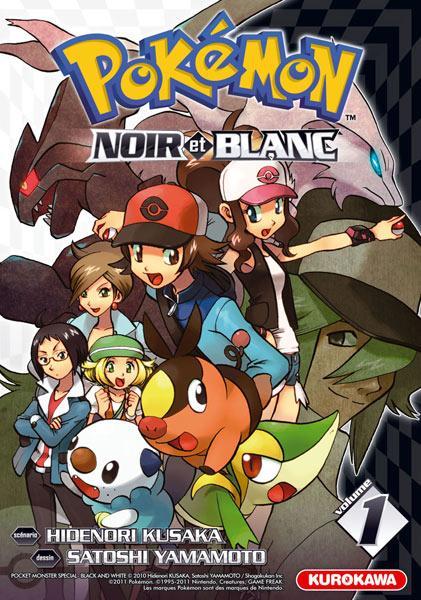 Pokémon Noir et Blanc > Tome 1
