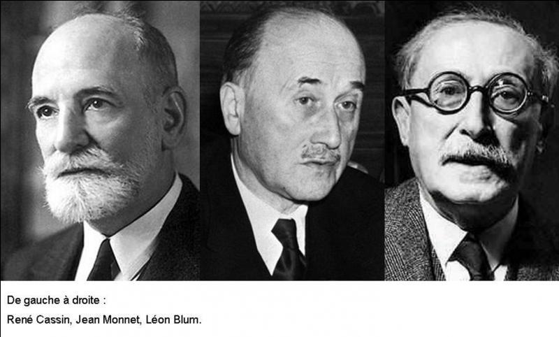 A vous de trouver cet homme politique qui a été :  - Auteur des statuts de la France libre. - Artisan de la déclaration de 1940, démontrant l'inconstitutionnalité du régime pétainiste. - Un des fondateurs de l'UNESCO.