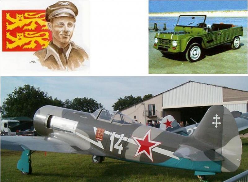 Vous connaissez certainement les « berlingots DOP », et la voiture « Citroën Méhari » avec sa carrosserie en plastique. Il est le créateur de ces produits. Egalement, il participa à l'aventure de Normandie Niémen, ces pilotes français qui combattirent aux côtés des Soviétiques. Qui est-il ?