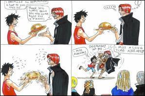 Les retrouvailles de Shanks et Luffy ! Que se passe-t-il ?