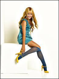 """Qui jouait le rôle de """"Hannah Montana """" ?"""