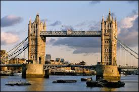 Quel fleuve le Tower Bridge enjambe-t-il ?