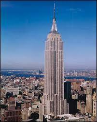 Dans quelle ville se situe l'Empire State Building ?