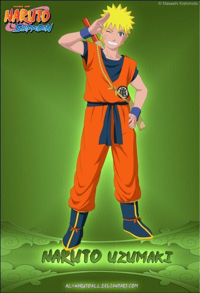 Il continue dans sa foulée avec un personnage de manga. Cette tenue est emblématique de la série...
