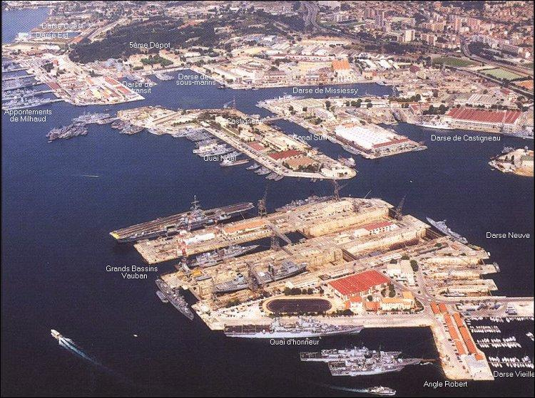 Var. Rade. Port civil et militaire !