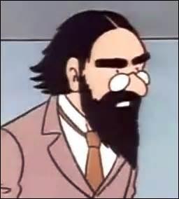 Quel est le nom de cet homme ?