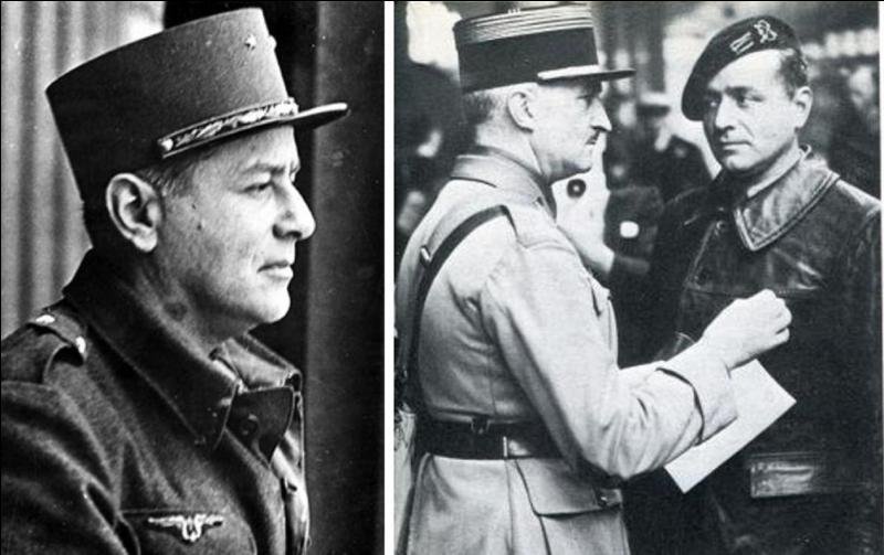 Blessé pendant la campagne de France, Prisonnier de guerre évadé puis interné en URSS jusqu'à l'attaque nazie, il rejoindra Londres puis combattra avec le 2e DB de Leclerc. Qui est cet officier devenu général en 1944. Qui est ce soldat ?