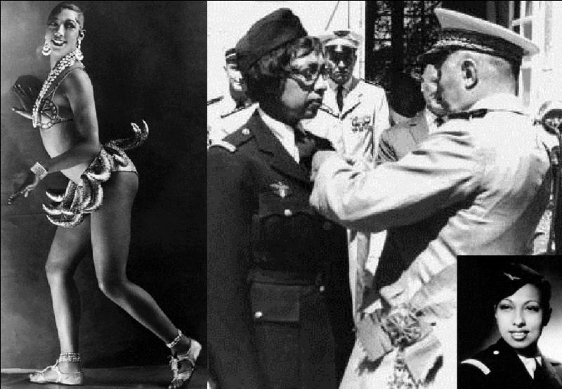 Engagée dès les premiers jours du conflit, elle continuera la guerre avec la France libre ! Son job sera l'espionnage et les missions secrètes. Cela ne l'empêchera pas de continuer à chanter pour les soldats, au front. Pour, elle l'expression « j'ai deux amours s'appliquera totalement. Qui est cette Grande Dame ?