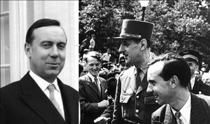 Cette personne deviendra un ministre important des débuts de la Ve République. Il participera à la libération en organisant la nouvelle organisation de préfets (commissaire de la République) devant remplacer ceux de l'Etat de Vichy. Qui est-il ?