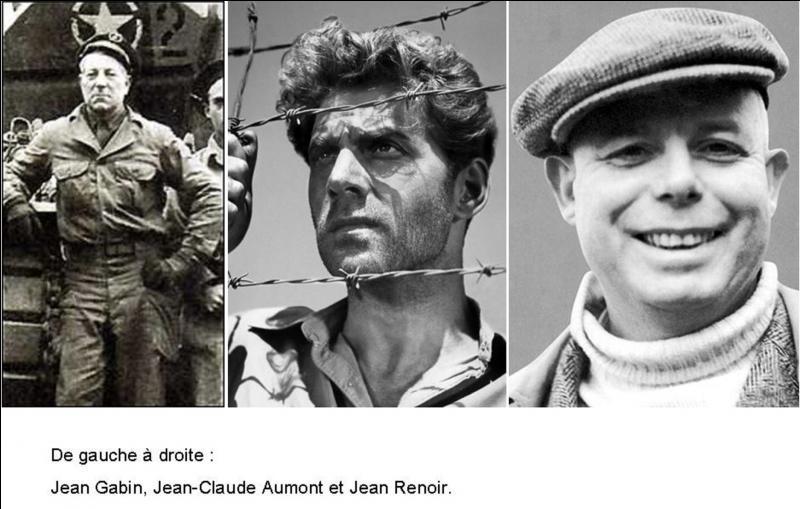 A vous de trouver cet acteur qui s'engageât dans la marine de la France libre mais, qui combattra au sein de la 2e Division blindée du général Leclerc de Hauteclocque. Sa carrière de combattant le mènera jusqu'au nid d'aigle d'Hitler !