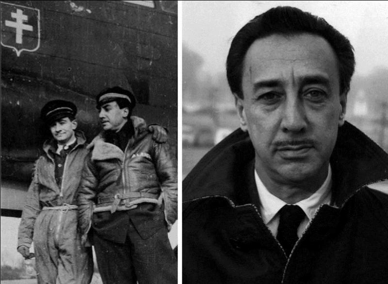 Emigré Russe, il sera naturalisé, cet écrivain rejoindra dès le 20 juin 1940 l'aviation de la France libre. Il combattra à bord de l'aviation de bombardement. Il deviendra diplomate et reprendra ces activités d'écrivain. Quel est son vrai nom ?