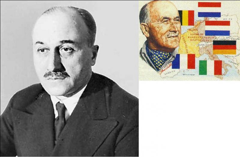 A vous de trouver le nom de cet opposant au général de Gaulle et à la France libre, considérant qu'il est un danger pour les libertés du pays. Il sera partisan, malgré tout d'une union totale avec le Royaume-Uni, comme de Gaulle. Qui est cette personne ?