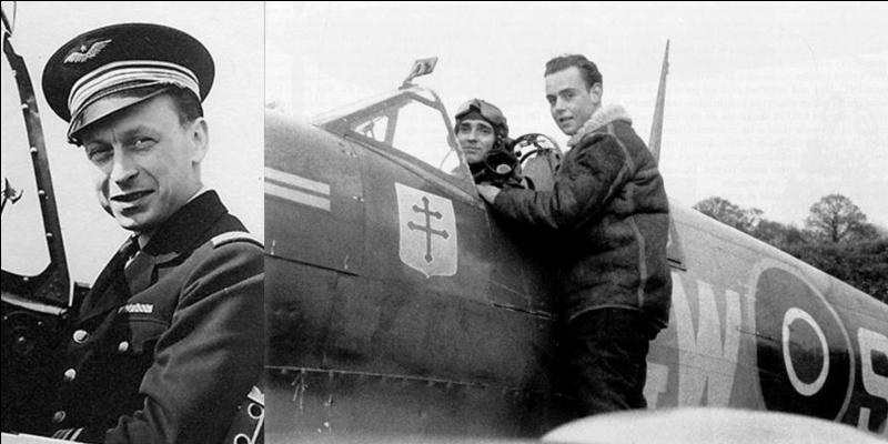 Pilote émérite, il fera partie de plusieurs escadrilles anglaises avant de faire partie de deux escadrilles de pilotes FAFL. Il deviendra le « patron » de l'ensemble de la chasse française. Qui est ce pilote ?