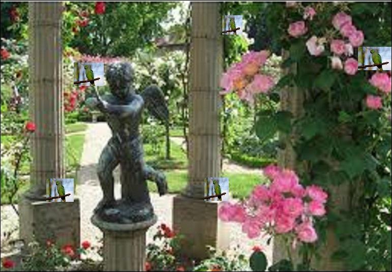 Dans quel parc du Val-de-Marne vous promenez-vous, et qu'y voyez-vous ?