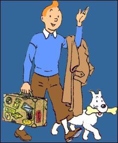 """Dans la bande dessinée """"Tintin"""", comment s'appelle le fidèle compagnon à quatre pattes de Tintin ?"""
