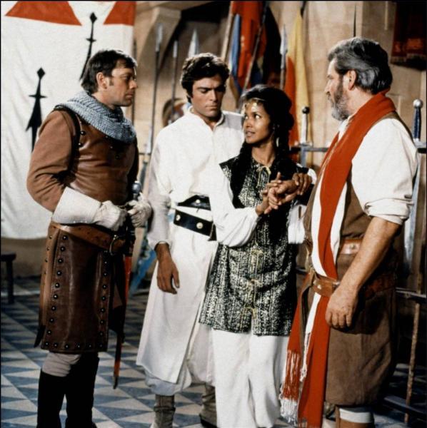 """Dans la série """"Thibaud ou les Croisades"""" de 1968, qui était Blanchot ?"""