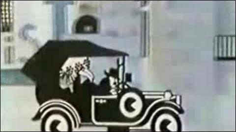 Quel était le titre de l'émission qui présentait des films muets ?
