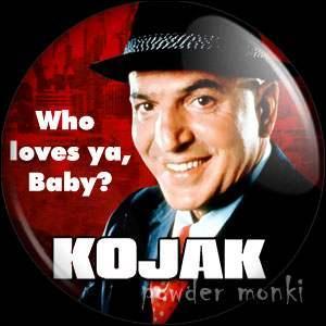 """Dans les années 70, dans la série """"Kojak"""" avec Telly Savalas, quelle était la particularité de Kojak ?"""
