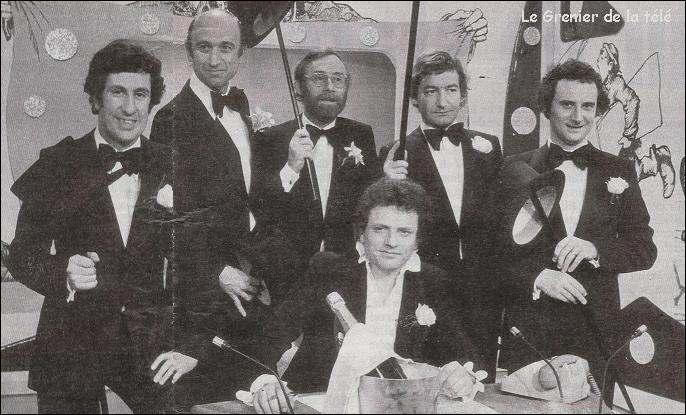 En 1976, comment s'appelait l'émission comique avec Jacques Martin ?