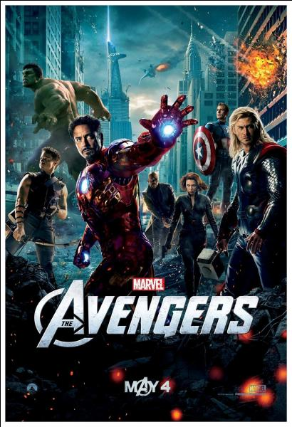 En quelle année est sorti The Avengers, réalisé par Joss Whedon ?