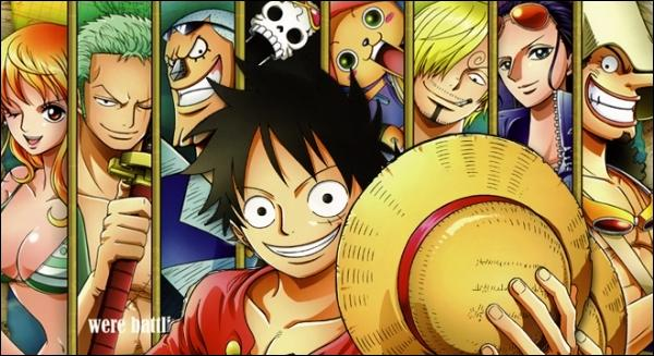 On passe par le O, une autre destination pour nos pirates de ce manga.
