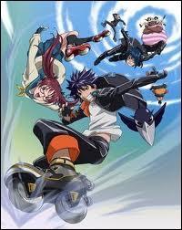 On commence par la lettre A, avec un manga très aérien où les rollers sont une arme de vitesse.