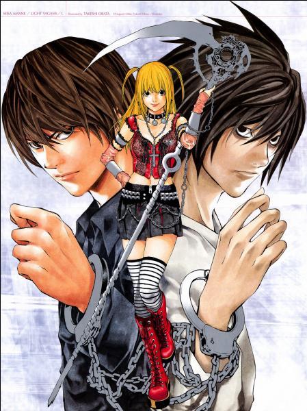 Et pour la lettre D, un manga où l'on peut tuer juste avec un cahier.