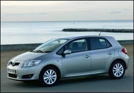 Remplaçante de la Toyota Corolla en Europe, celle-ci porte le nom de ...