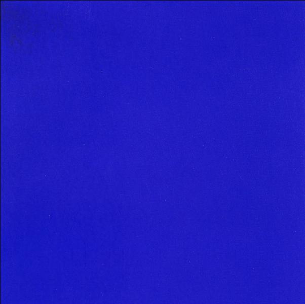 C'est le bleu en français mais en anglais, quelle est cette couleur ?