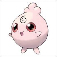 Comment s'appelle ce Pokémon encore plus mignon que Rondoudou ?